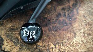Kammergriffkugel Onyx mit gravur