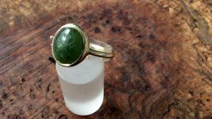 Wappenring-Jade